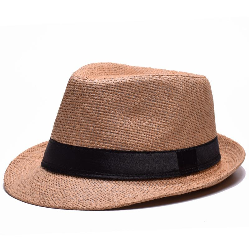 grass Fashion sun hats Foldable womens sunhats women's hat Summer Beach Floppy Cap Headwear Unisex Panama Summer Beach Sun Hat