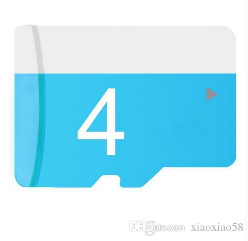 높은 품질 4GB 마이크로 SD 카드 4기가바이트 100 % 품질 메모리 카드 4g SDXC CE FCC 인증 TF 카드 100PCS