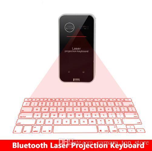 Новый Bluetooth виртуальный лазерный проекционный клавиатура с функцией мыши для смартфонов ПК ноутбук портативная беспроводная клавиатура