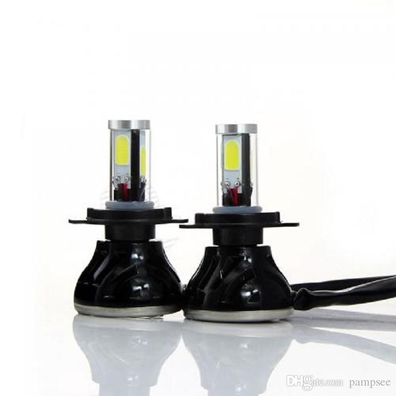 G5 H1 H3 H7 H11 H11 9005 H4 자동차 용 LED 전조등 COB 80W 8000LM 전조등 전조등 키트 전조등 전조등 6000K 12V