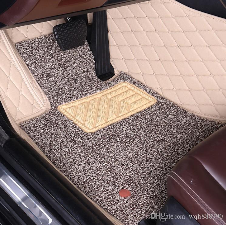 Esteiras do assoalho do carro para Suzuki Jimny S-cross / Crossover SX4 Swift Grand Vitara Escudo XL7 estilo do carro de alta qualidade todos os tapetes de tempo
