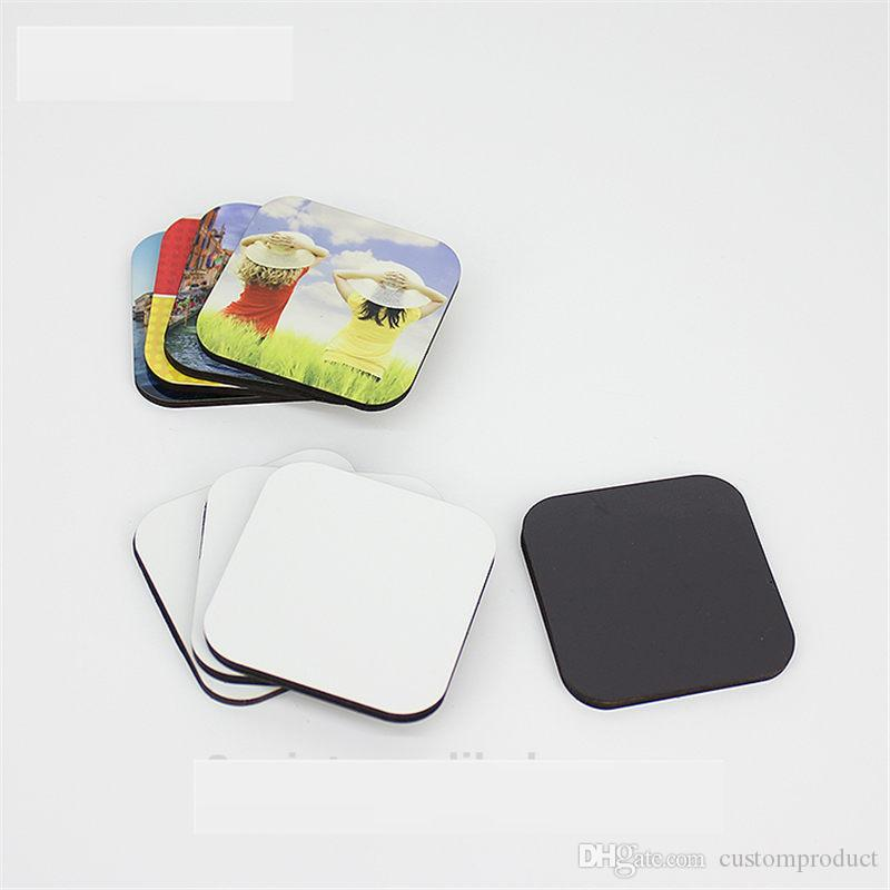 Boş boya süblimasyon için mdf buzdolabı mıknatısları ahşap buzdolabı mıknatısı kalp transfer baskı diy sarf malzemeleri DI-004 mix stilleri