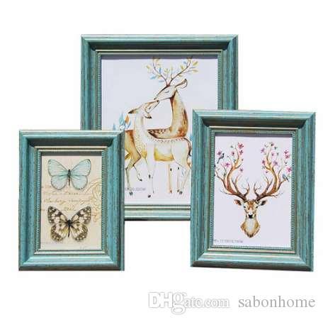현대적인 디자인과 환경 보호 수지 Photo Frame 사진 프레임 Hight Quality Frame for Home Decoration