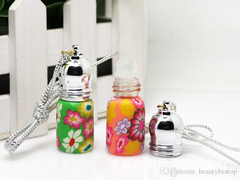 Wholesale 300pcs/lot 3ml Mini Roller Ball Glass Refillable Empty Perfume Bottles Essential Oil Roll On Bottle