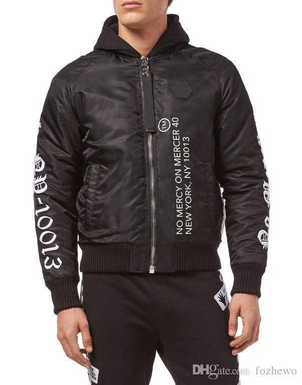 b4bc79e90 New Mens Designer Jackets Fashion Brand Men Jacket Embroidered Robots Anti  Rain Clothing Top Quality Male Casual Zipper Jacket Coat For Men Biker ...