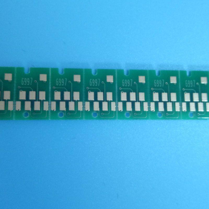 2018 el más nuevo T6997 una sola vez el uso de chip para Epson SureColor P6000 P7000 P8000 P9000 depósito de mantenimiento