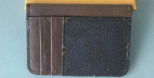 High-end quality hot sale fashion designer new arrival men card holder 4 color women credit card purse wallet holders