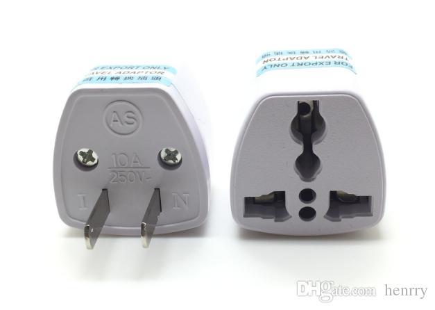 米国規制普遍的なアダプターはイギリスの規制規則に変わることができますアメリカの標準アダプター旅行アダプター電源プラグアダプター20PCS