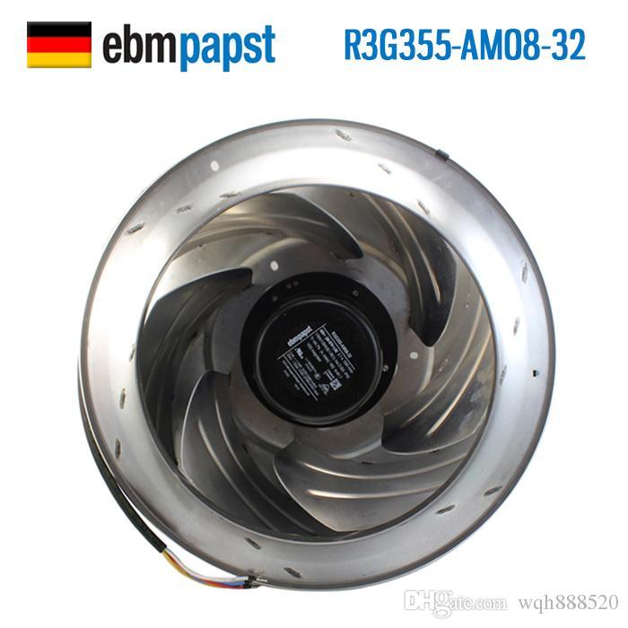 Atacado Alemão (ebm-papst R3G355-AM08-32 48V 3.7A) (ebm-papst 4650NWR-059 12038 230V) (A4E350-AP06-43 / A01 ebm-papst 230V 70 / 105W) ventilador de refrigeração