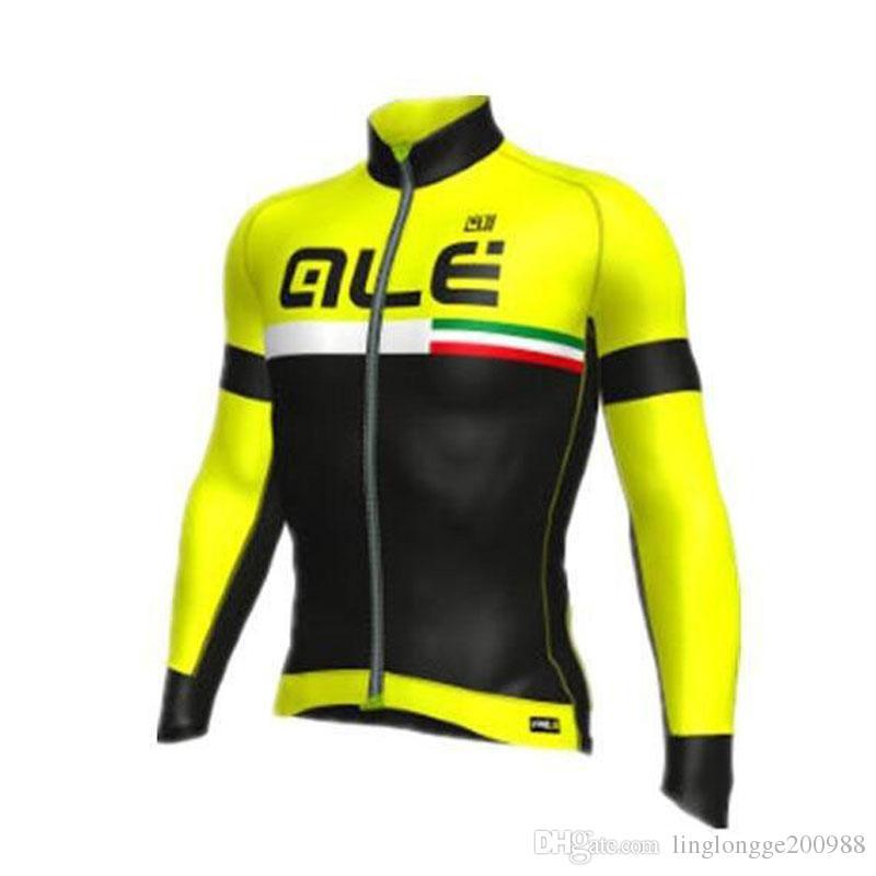 2019 İlkbahar / Sonbahar bisiklet giyim Ropa ciclismo invierno hombre bisiklet bisiklet giyim mtb spor pro team uzun sleevs ropa Ciclismo