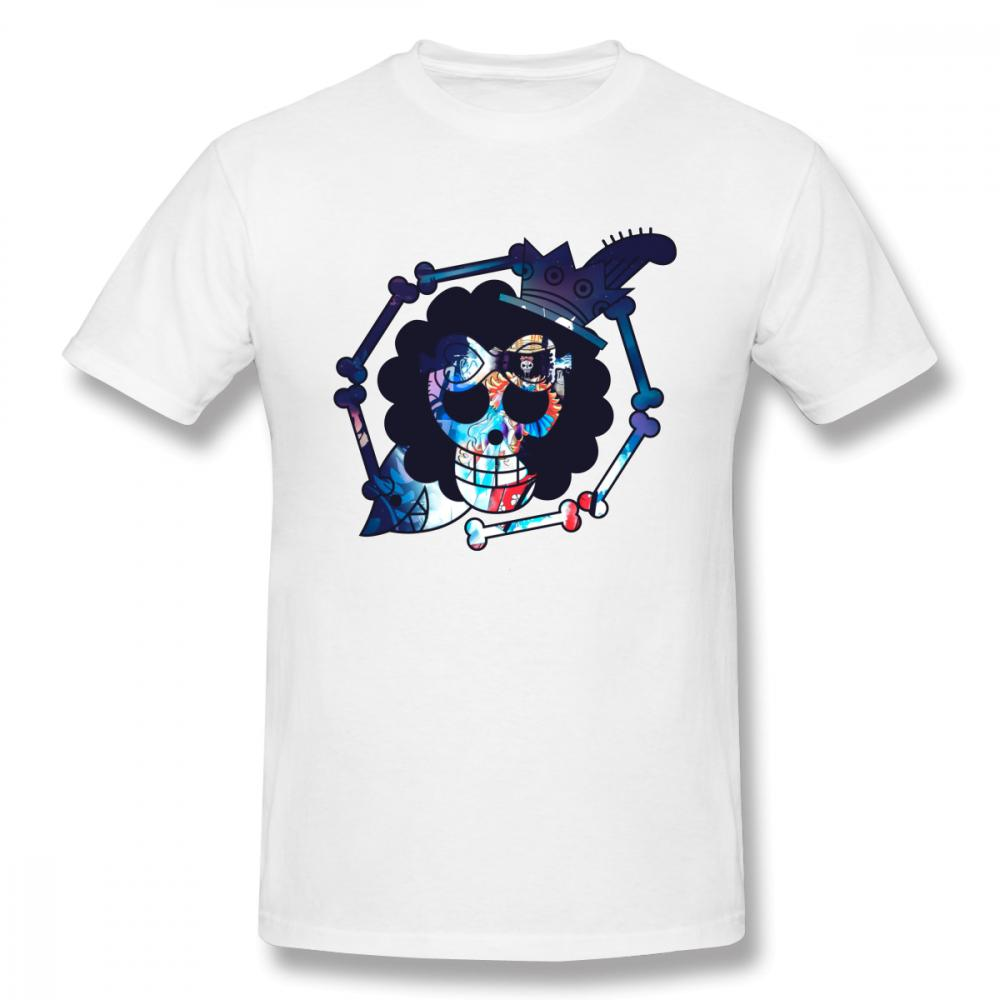 Male Brook One Piece T Shirt 3d Print 100% Cotton T Shirt Plus Szie Slim Fit Summer Breathable Camiseta