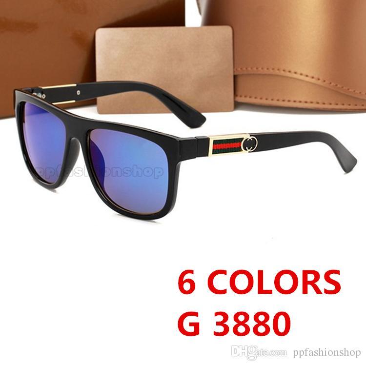 جديد 3880 العلامة التجارية الشهيرة مصمم النظارات الشمسية حماية للأشعة فوق البنفسجية نظارات الصيف نمط أعلى جودة قناع في الهواء الطلق نظارات