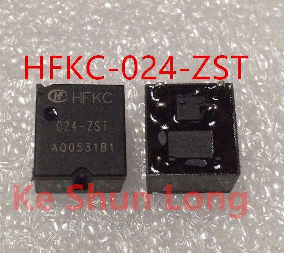 무료 배송 로트 (5 개 / 많이) 신품 HONGFA HF HFKC-024-ZST DIP-5 30A16VDC 24VDC 자동차 계전기