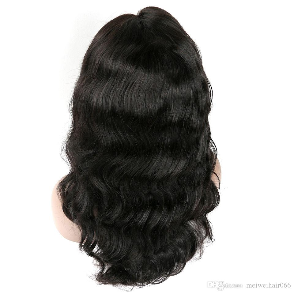 Glueless Long Wavy Wig Brazilian Human Hair Wigs for Women Body Wave Lace Front Wigs with Baby Hairs 8A Pre Plucked Lace Wigs