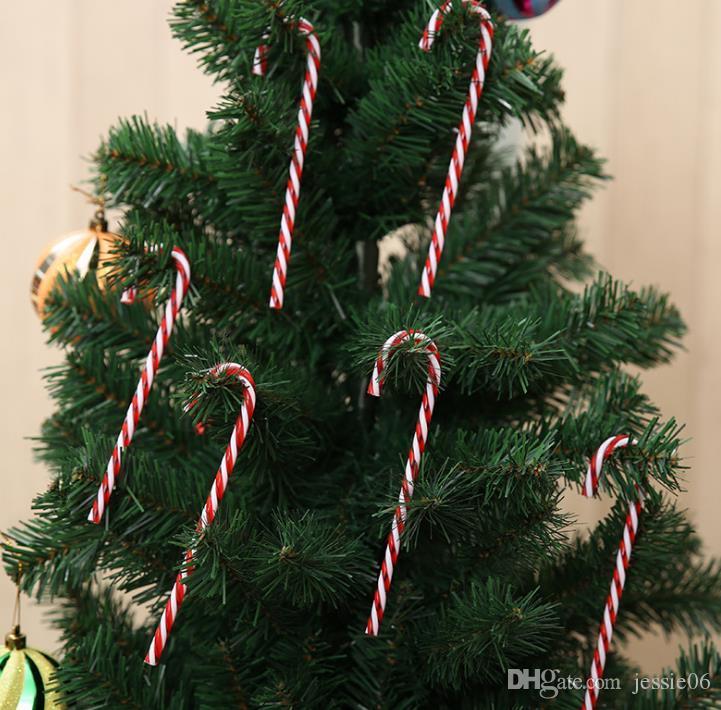 Candy Cane Christmas Tree.Christmas Acrylic Candy Cane Xmas Tree Hanging Decoration Ornaments P Sweet Christmas Tree Display Diy Decorations 15cmx3 5cm Home Christmas