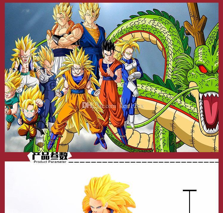 2020 17cm Anime Dragon Ball Z Super Saiyan 3 Battle Damage Edition