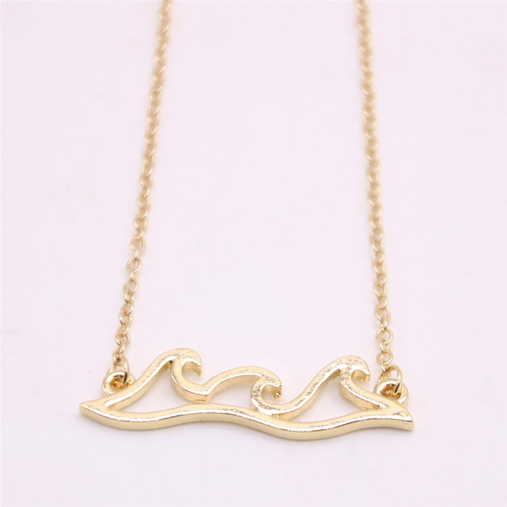 South American style pendant necklace Wave form necklace Free shipping attractive gifts for women Retail and wholesale mix