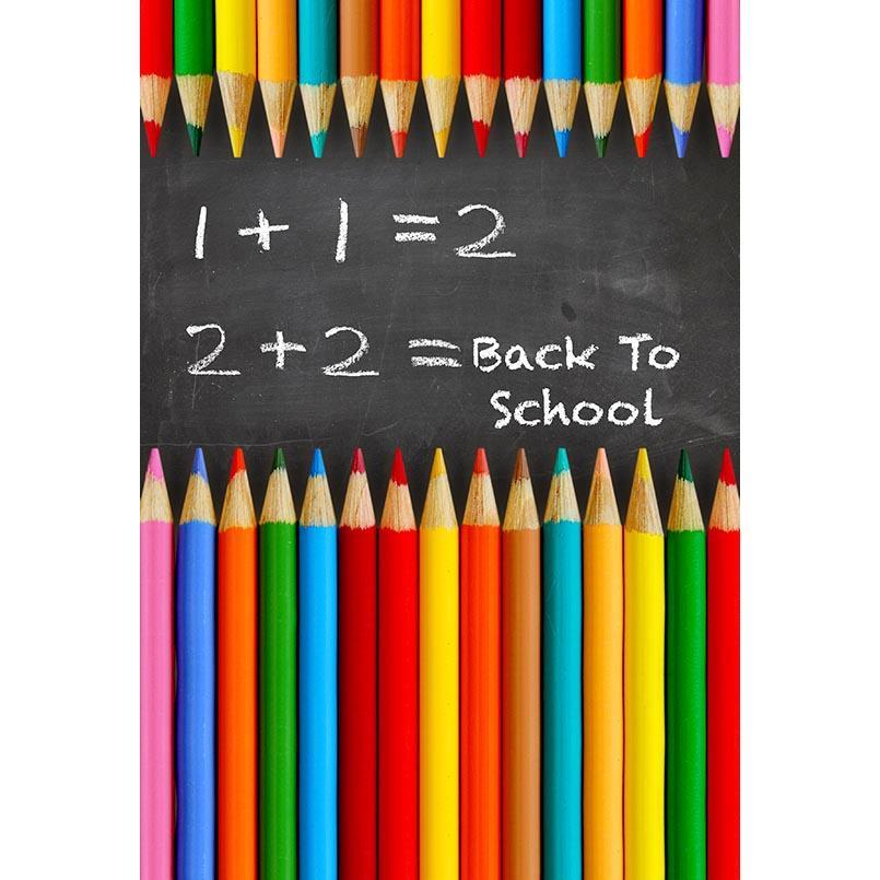 أقلام ملونة ، التصوير الفوتوغرافي ، الخلفيات ، السبورة ، العودة إلى المدرسة ، الأطفال ، والخلفيات للطفل ، Photophone ، استوديو الصور