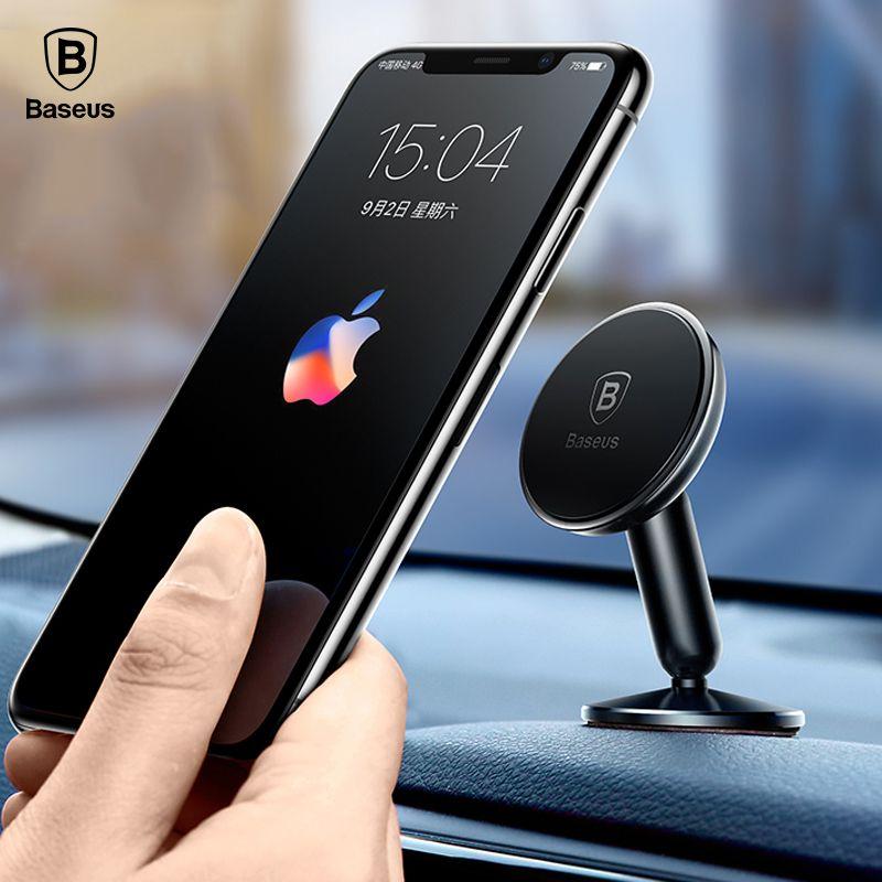 Baseus Universal Car Holder For Mobile Phone For Car 360 Degree Magnetic Car Phone Holder