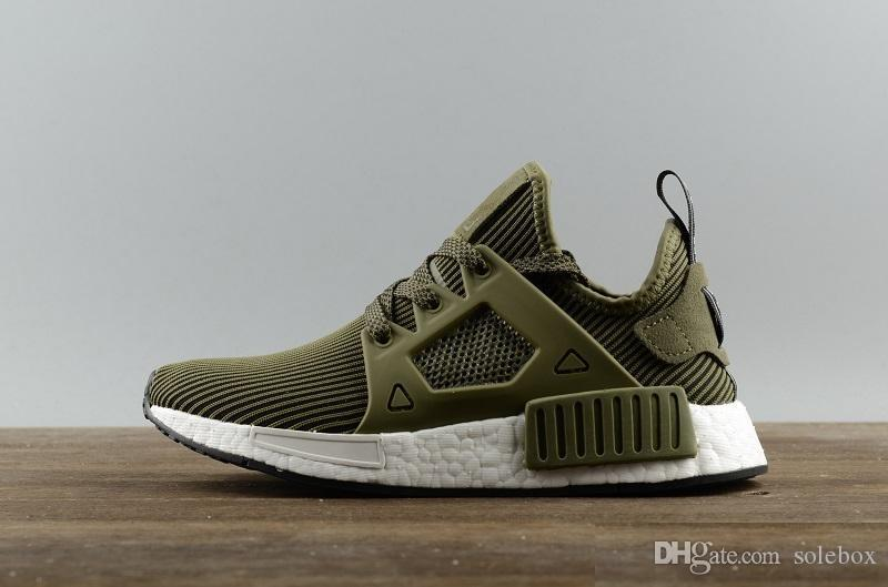 purchase cheap 0dda1 945df 2019 2018 NMD XR1 Running Shoes Mastermind Japan Skull Fall Olive Green  Camo Glitch Black White Blue Zebra Pack Men Women Sports Shoes 36 45 From  ...