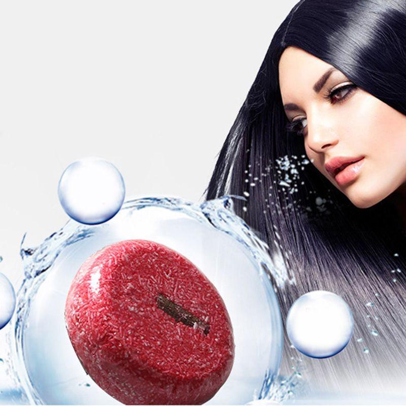 Handmade Hair Shampoo Magic Soap Pure Natural Dry Shampoo Soap Oil-control Anti-Dandruff Off Hair Care Free Shipping 100pcs