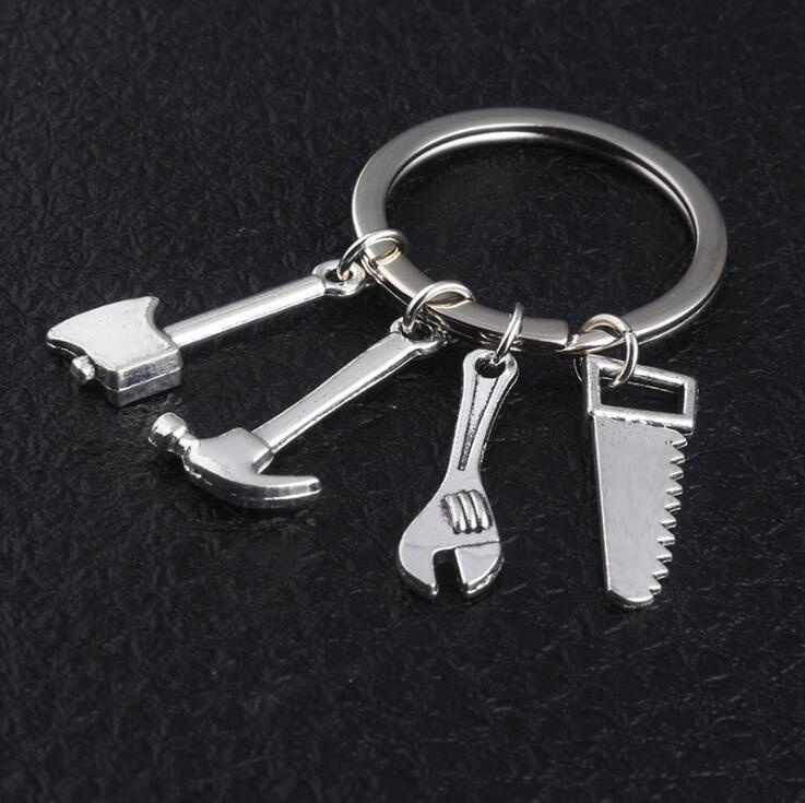 Если папа не может Fix It No One Can Ручной инструмент брелок Daddy кольца для ключей Key Chain Отец аксессуары Автомобильные аксессуары 200шт OOA5020