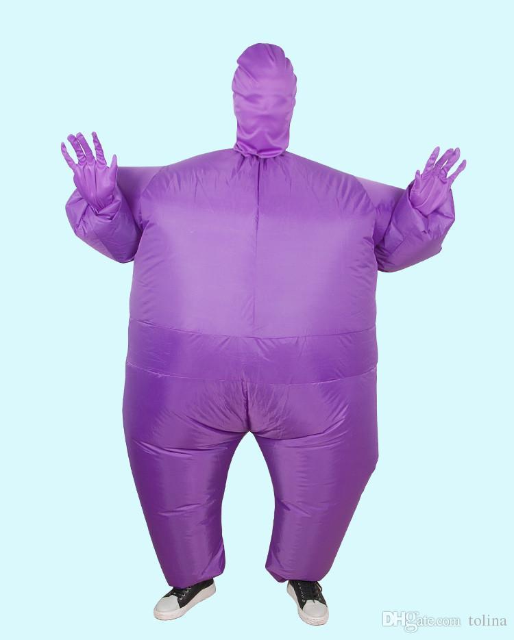 Cosplay Unsichtbarer Mann Erwachsener Club Anzug Halloween Ninja Kostüm Maskierte Menschen Ganzkörperfettanzug Fancy Party Dress