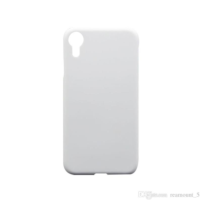 Großhandelsharter PC Sublimations-Telefon-Fall für iPhone 8 9 9 Plushitze-Druckübertragungs-Telefon-Abdeckung