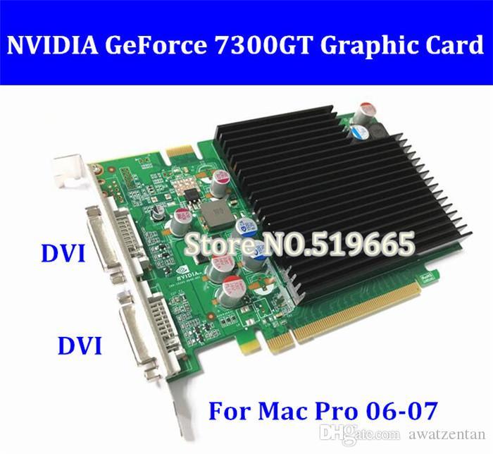 OWK Nuovo originale di alta qualità per Mac Pro nVidia GeForce 7300GT Scheda video Mac Mac da 256 MB La scheda video di 1 gen ha 8800 g