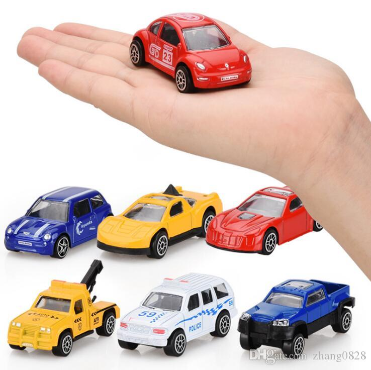 Metal Small car Cartoon Toys 16 Styles Scooter sports gifts truck & Car Toys Best Christmas Gifts DHL Free Shipping