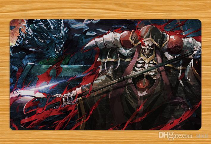 momonga_ (overlord) monstro overlord so-bin arma Playmat TCG Mat Frete grátis