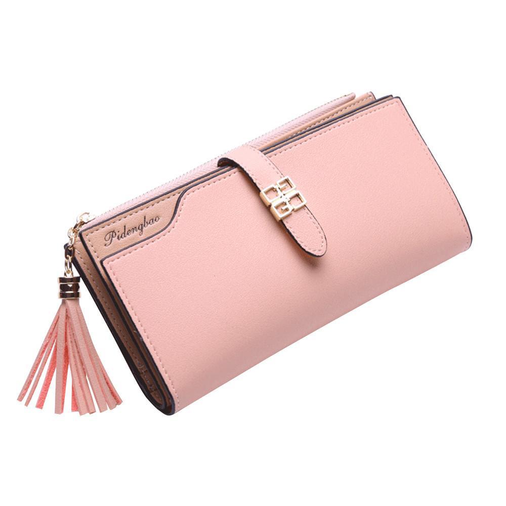 Women Wallet Leather Female Multifunction Purse Long Big Capacity Card Holders