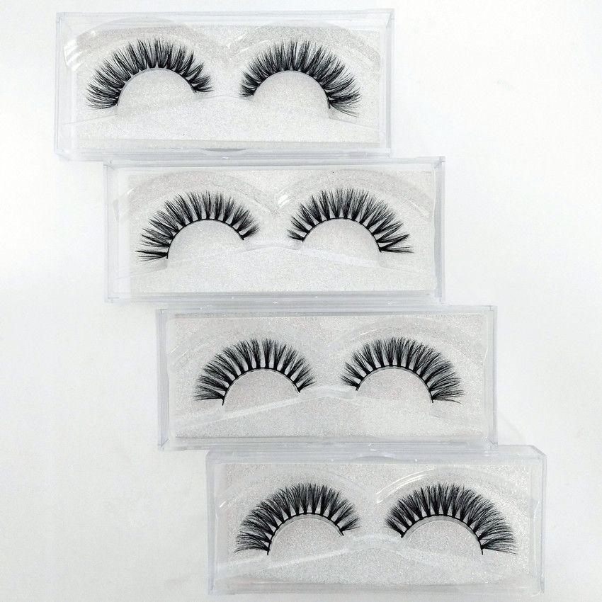 High-end 10 pairs Fake Eyelashes Lengthening Natural 3D Reusable short paragraph Handmade Makeup False Eyelashes Lashes Extensions Long Lash