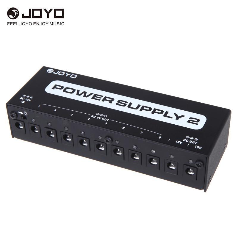 JOYO JP-02 Güç Kaynağı 9 V 12 V 18 V Gitar Efekti için İzole Çıkış