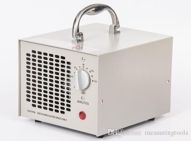 Purificador de aire de la máquina de desinfección del ozono del generador de ozono portátil para el hogar 3.5G / H 220V blanco negro olor eliminador desinfección esterilizador