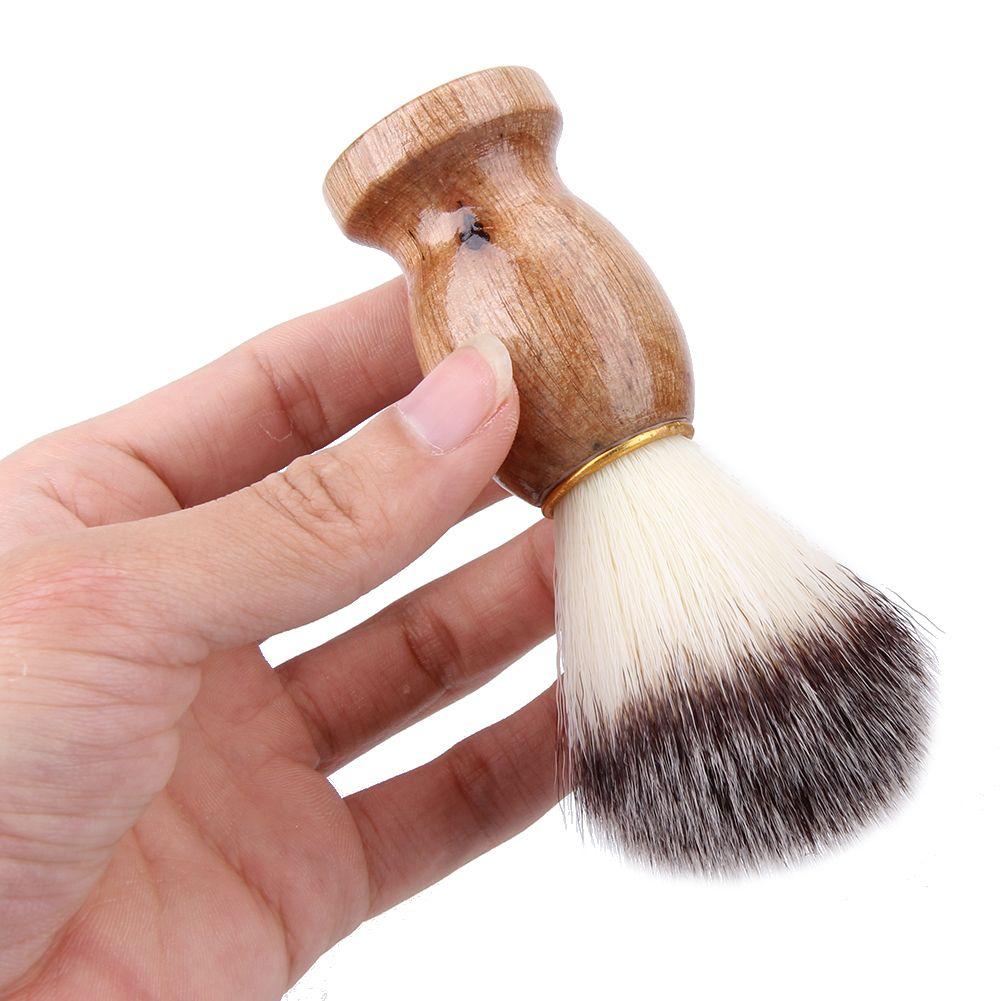 Yeni Badger Saç Erkek Tıraş Fırçası Barber Salon Erkekler Yüz Sakal Temizleme Cihazı Yüksek Kalite Pro Traş Aracı Jilet Fırçalar