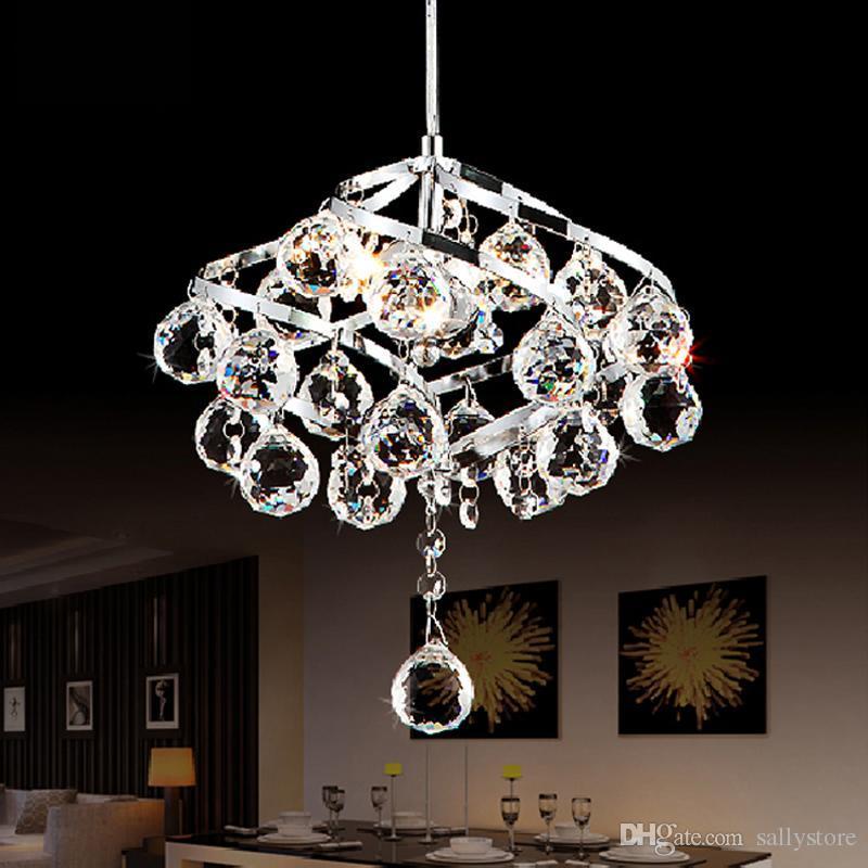 현대적인 고급 분위기 K9 크리스탈 펜던트 조명 램프 침실 램프 거실 램프 레스토랑 복도 조명