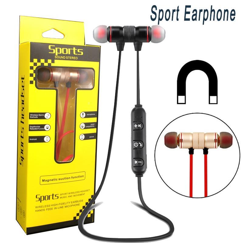 Sport Bluetooth Kopfhörer drahtloser Kopfhörer-Sport EarbudsStrong Bass-Kopfhörer mit Mic für Andriod