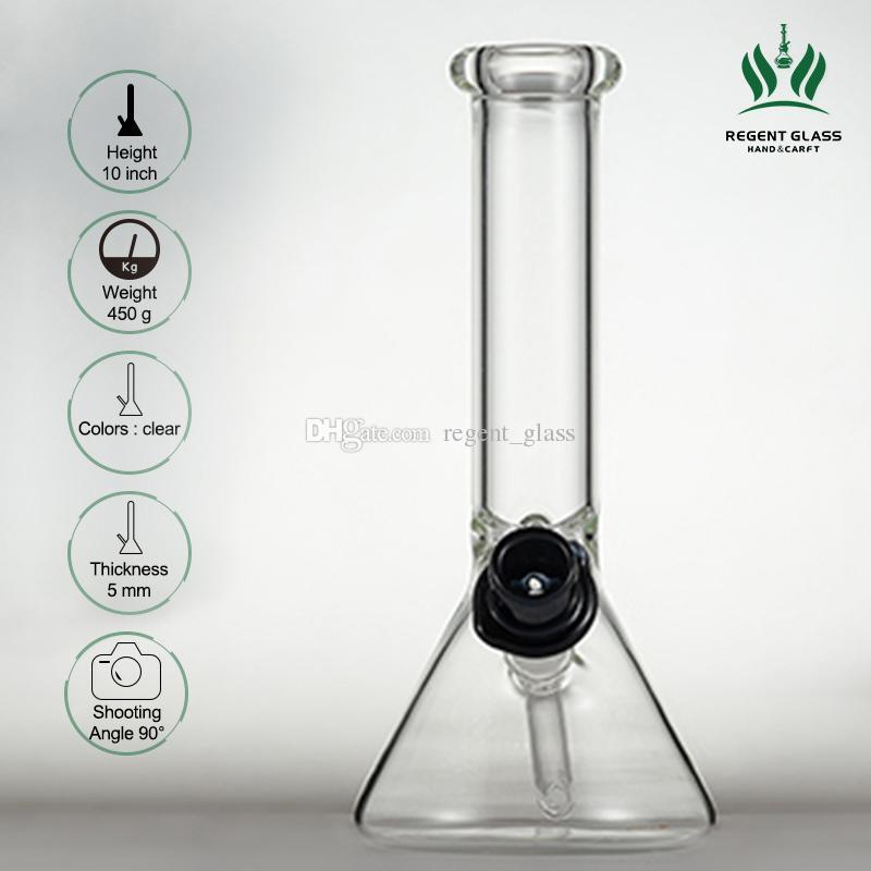 Rauchen Becher Bong Water Pipe Hukäss Sheldon Black Derby Hutkonzentrator 14mm Schüssel mit festem Dazemaschinen Bubbler Wachs Ölbrenner Rig