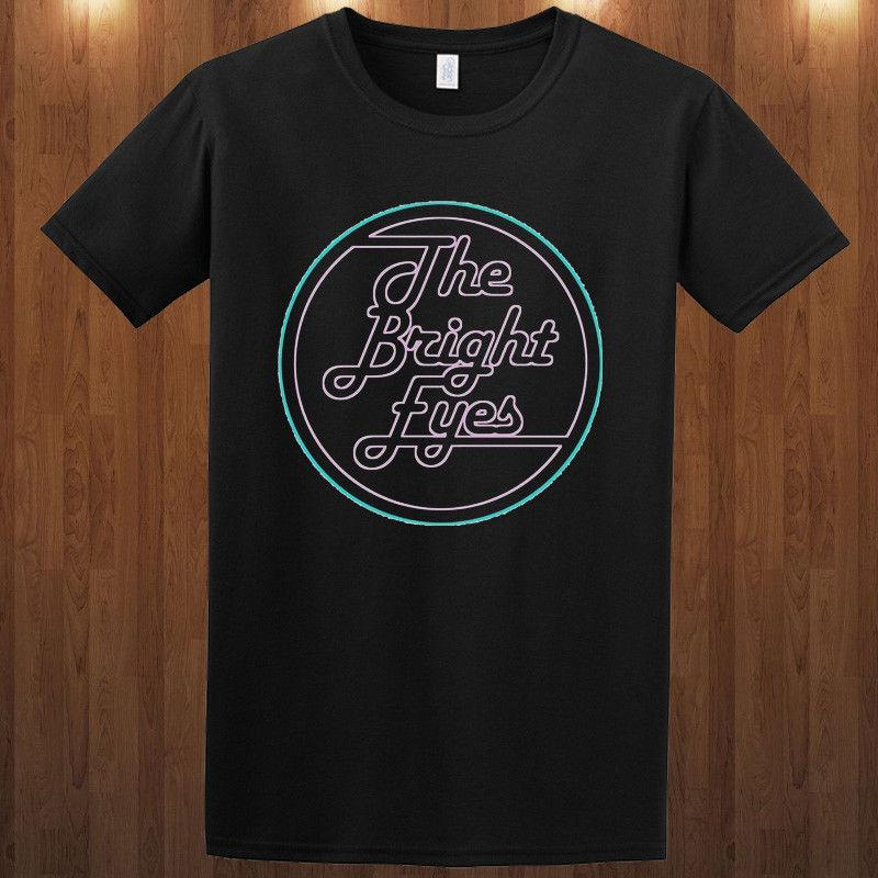 Parlak Gözler tee indie rock grubu Conor Oberst T-shirt Soluk S M L XL 2XL 3XL
