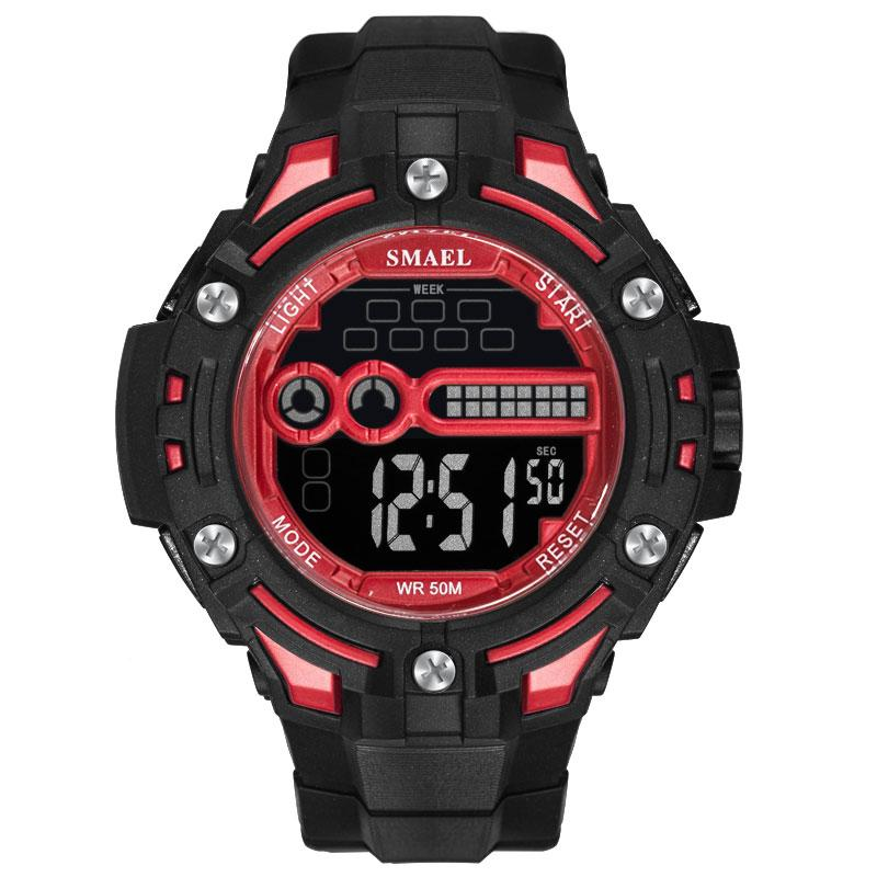 Digital Wristwatches Waterproof SMAEL Watch Top Brand S Shock Montre Men Watches Digital LED 1526 Mens Military Watches Sports