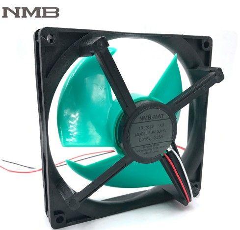 الجملة (NMB FBA12J15V) (NONOISE G5015M12D1 + 6 0.200A) (NMB 1406KL-09W-S29 3.5CM) (Foxconn 6025 PV602512ESPF OA 60mm 12V 0.35A)