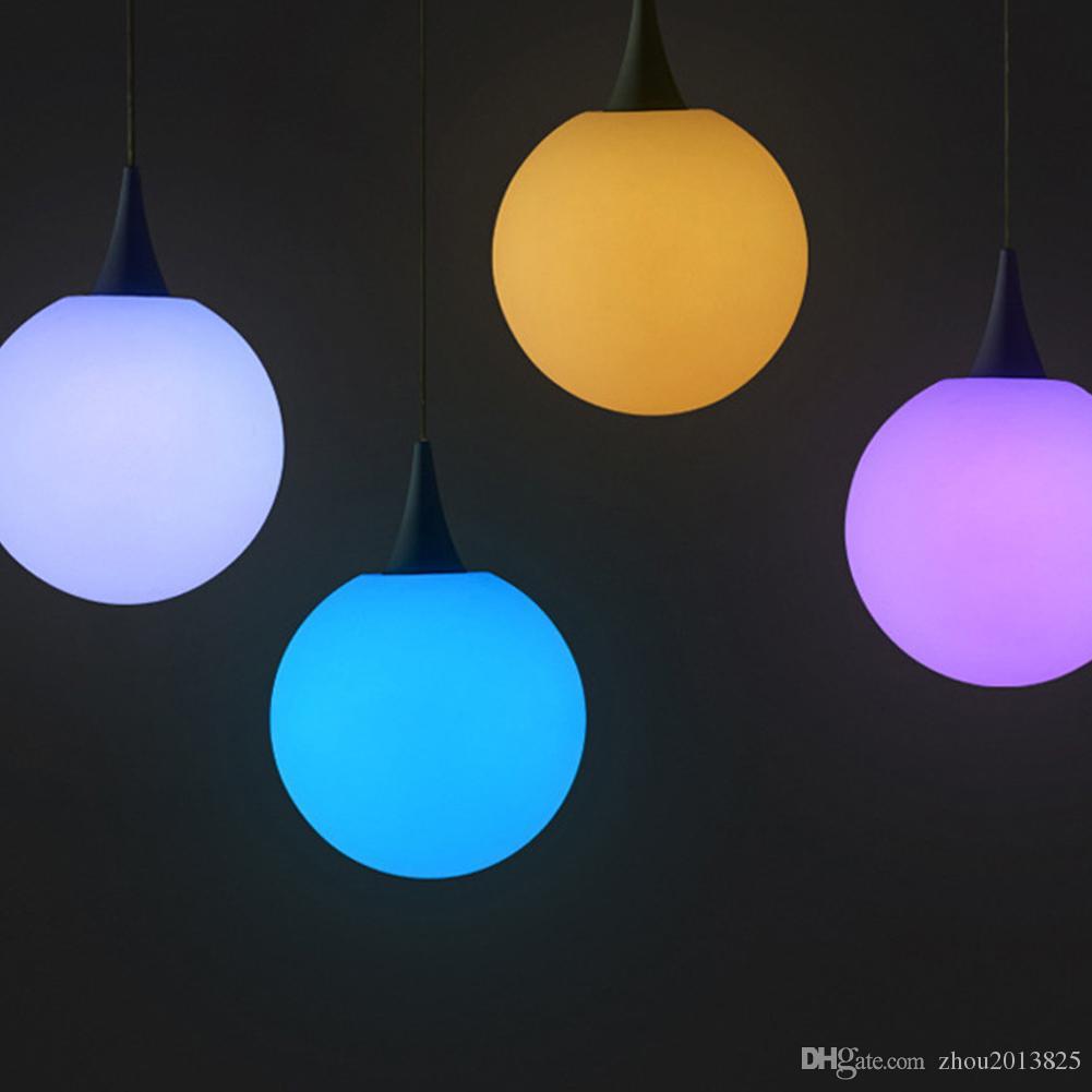 Impermeable lámpara del humor, USB recargable cambio de color de las luces de noche sin cable con el cambio de control y RGB color alejado de las luces del estado de ánimo