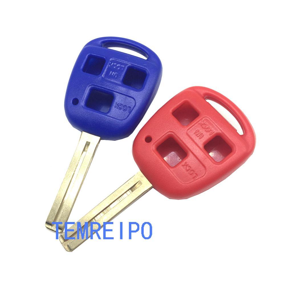 Remote Key Shell 2 Button Key Case Fob Blade TOY48 for Lexus RX300 LS400 GX460 GX470 SC430 GS300 GS450H RX330