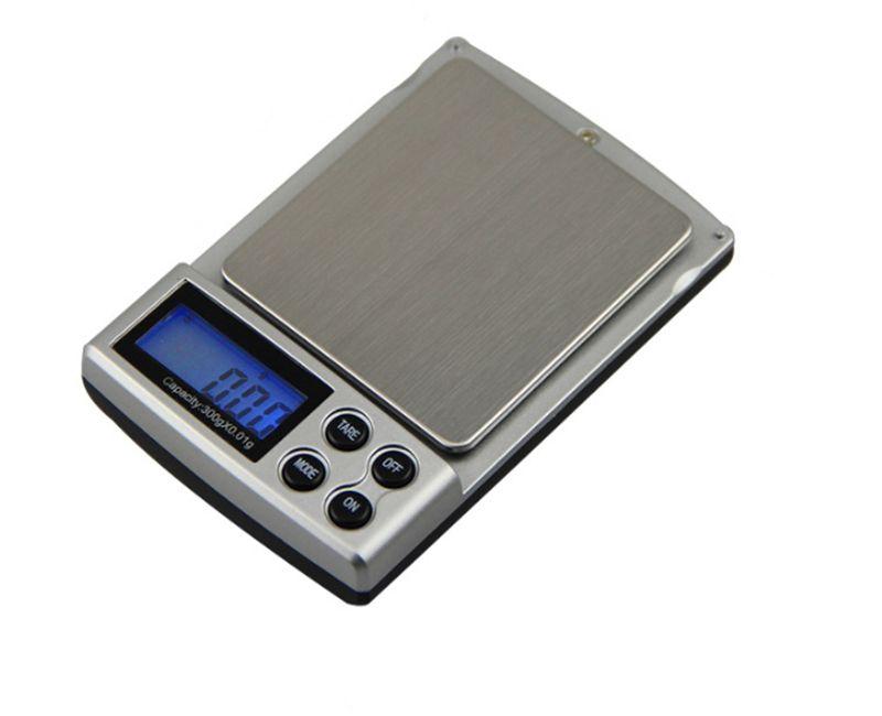 2000g x 0.1g Bolsillo Balanza electrónica digital Balanzas de cocina Joyería de equilibrio Hierbas Gemas de oro Escamas de plata
