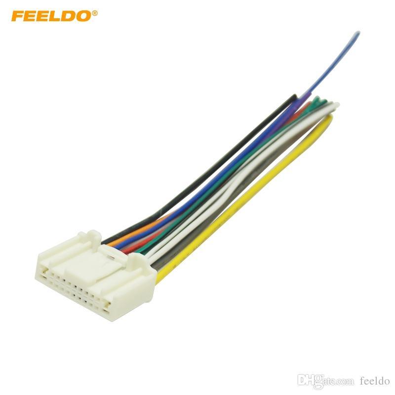aftermarket stereo wiring harness 2020 feeldo car stereo wiring harness adapter plug for subaru  2020 feeldo car stereo wiring harness