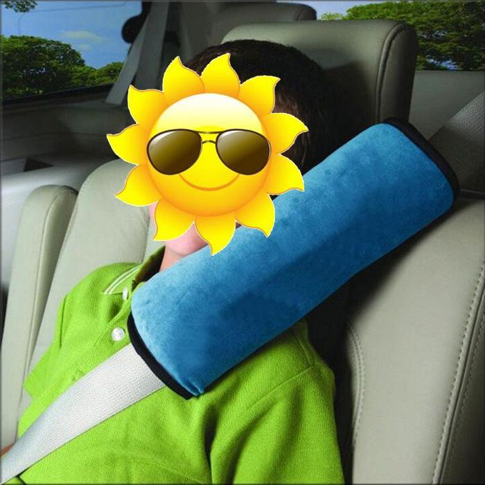 Yastık Bebek Araba Oto Emniyet Emniyet Kemeri Demeti Omuz Pedi Kapak Çocuk Koruma araba araba Yastık Destekler Kapakları