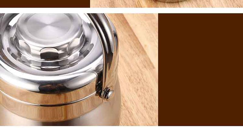 Vacuum Double Wall Stainless Steel Insulated Lunch Bento Box Portable China Japan Style Food Container For Kids Adult Student 19