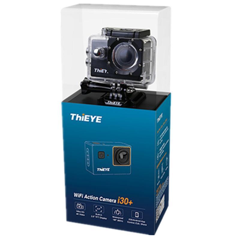 الجملة عمل الكاميرا i30 + 4K / 10fps 1080P / 30fps كامل HD 12M 60M ماء 2.0 '' شاشة 170D FOV الغوص الرياضة الكاميرا