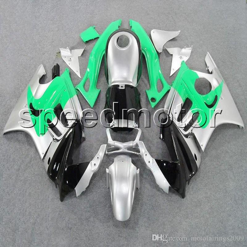 Gifts Green Silver Black Cbr 600f3 97 98 Motorcycle Cowl Fairing For Honda  Cbr600 F3 1997 1998 Abs Plastic Kit Motorcycle Cruiser Fairings Motorcycle